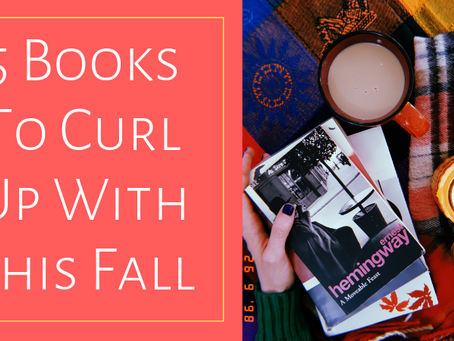 5 Great Books To Cozy Up With This Fall