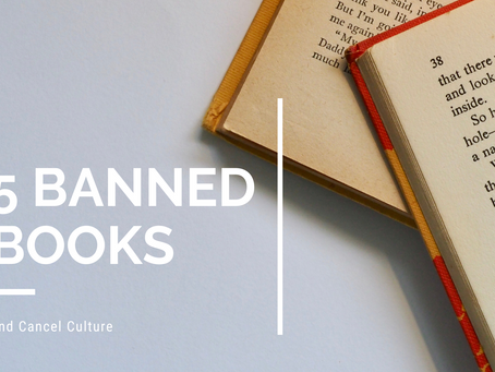 Cancel Culture and Banned Books