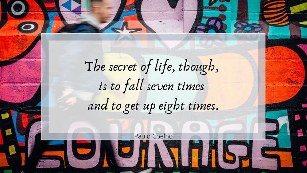 Paulo Coelho inspirational quote