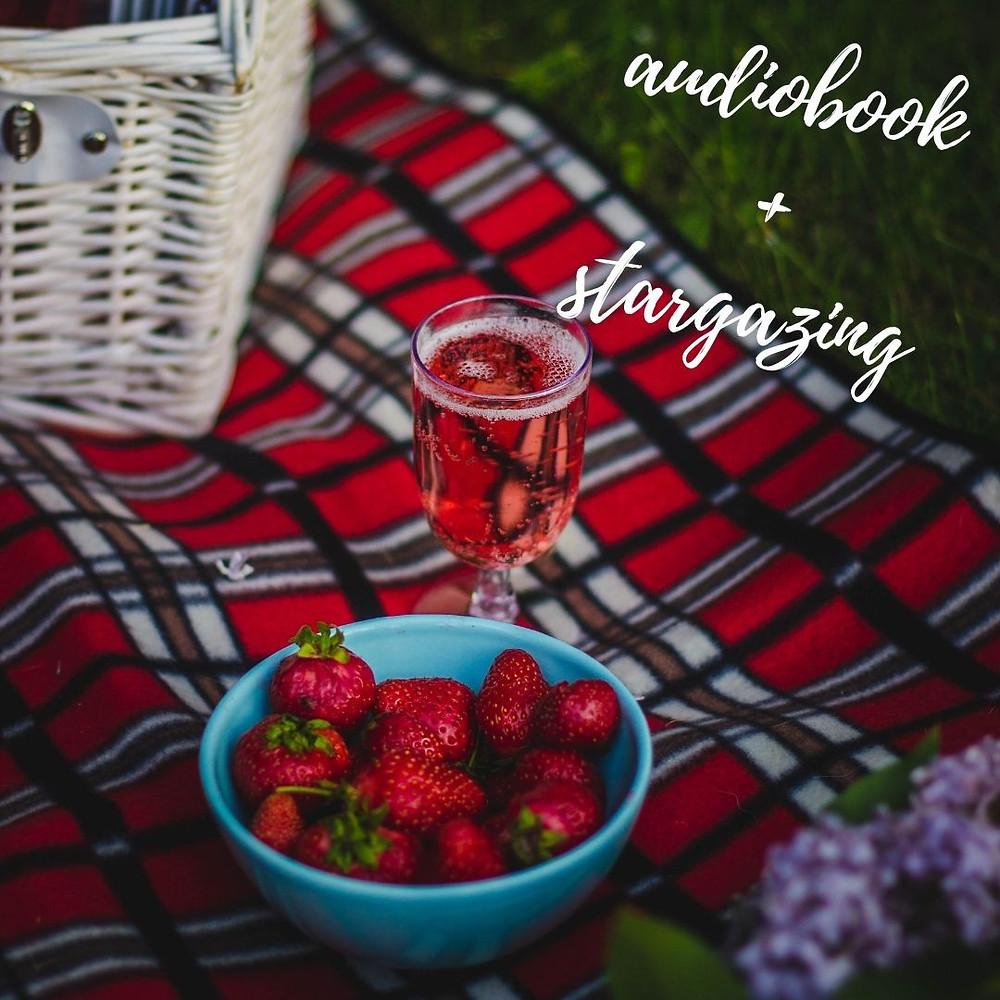 audiobook picnic, bookworm valentine