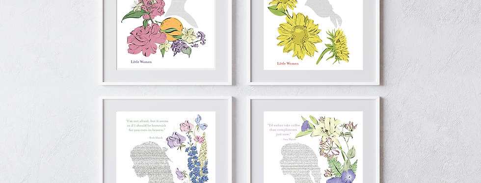 Little Women Prints | March Sister Quotes
