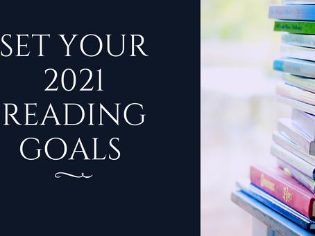 Set Your 2021 Reading Goals!