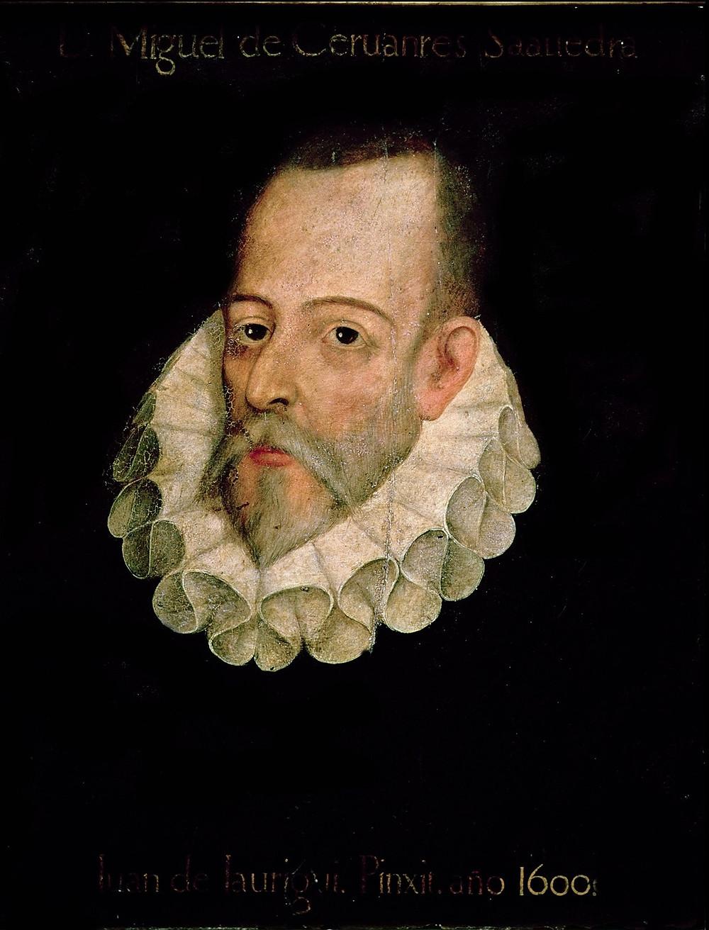 Miguel de cervantes portrait