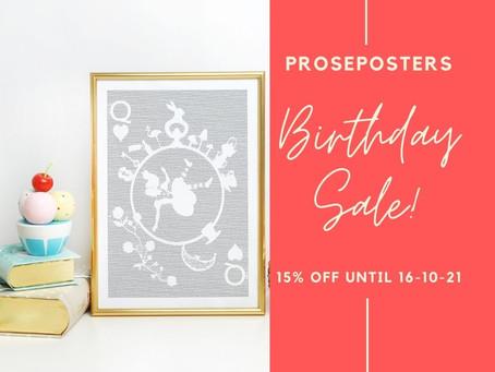 3 Years of Proseposters!