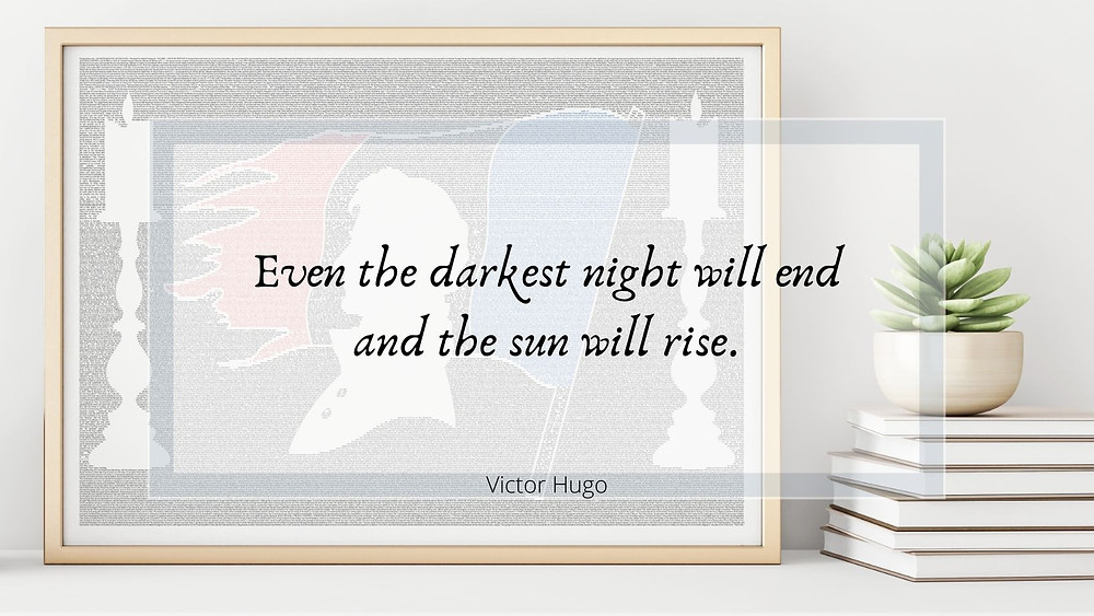 Victor Hugo inspirational quote