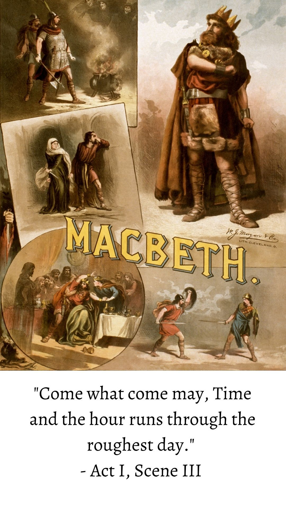 come what may Macbeth quote