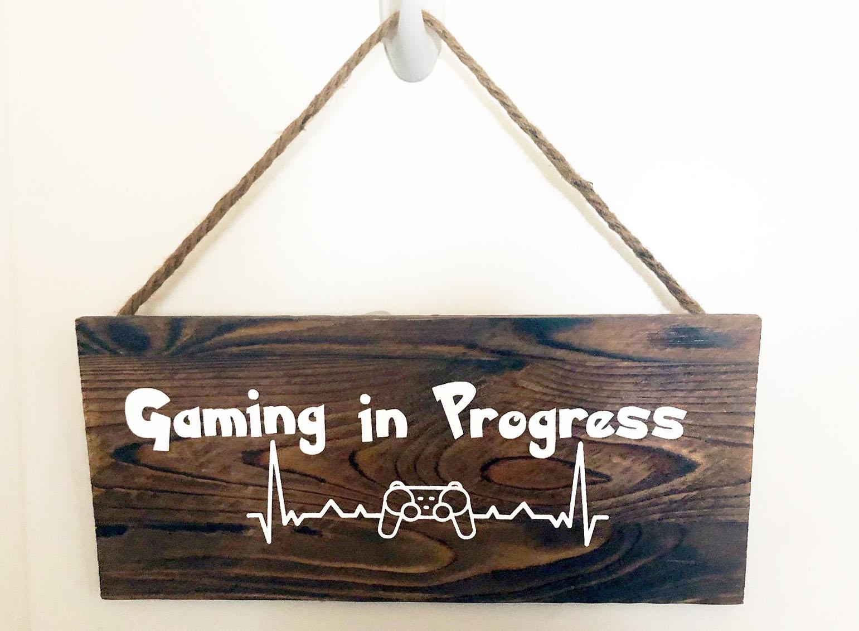 Gaming in Progress Vinyl Decal