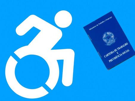 """""""Você sabe quantas pessoas com deficiência estão desempregadas?"""