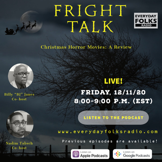 Fright Talk: Christmas Horror Movies: A Review
