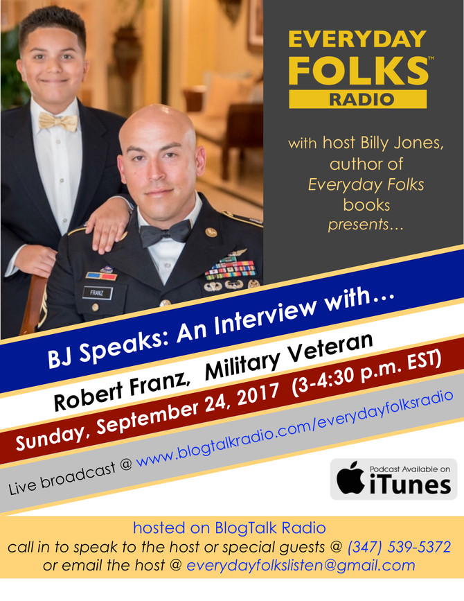 An Interview with Robert Franz, Military Veteran and Friend