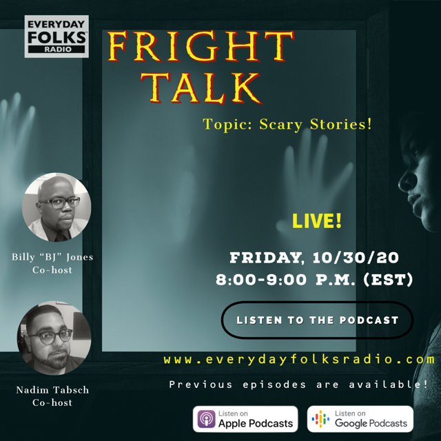 Fright Talk: Scary Stories