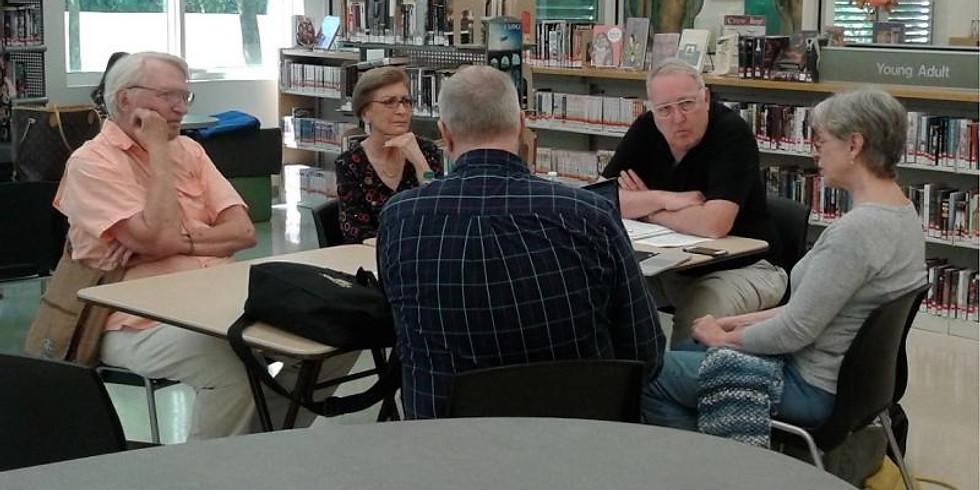 Non-fiction Critique Group | Facilitator: Peter Luykx