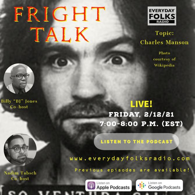 Fright Talk: Charles Manson