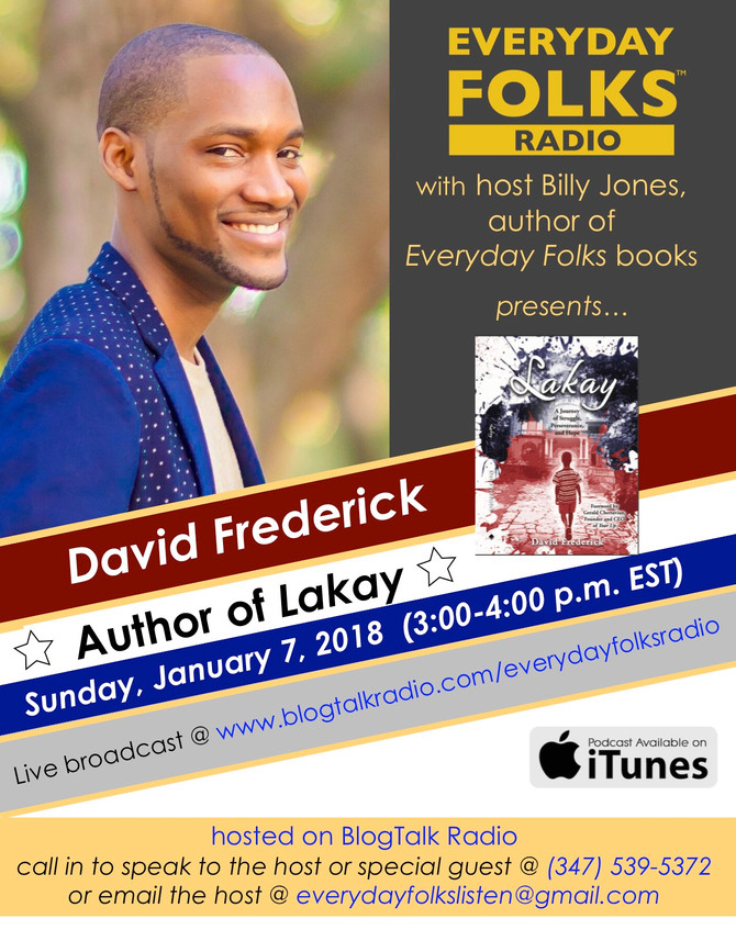 BJ Interviews David Frederick, Author of LAKAY