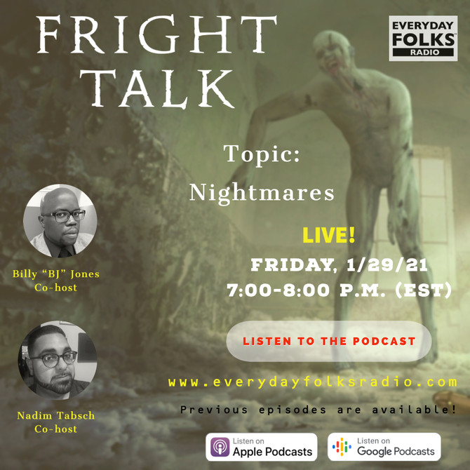 Fright Talk: Nightmares