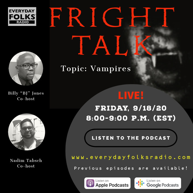 Fright Talk: Vampires