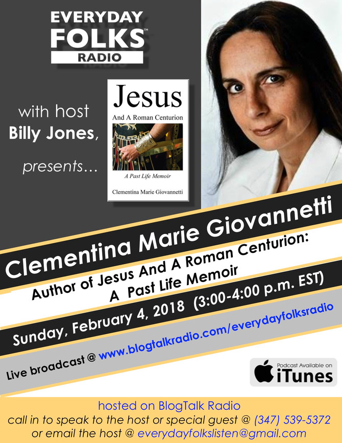 BJ Speaks: A Conversation with Clementina Marie Giovannetti, Author