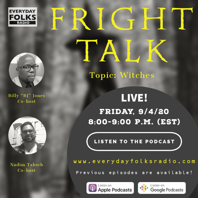 Fright Talk Guys: A Conversation about Witches