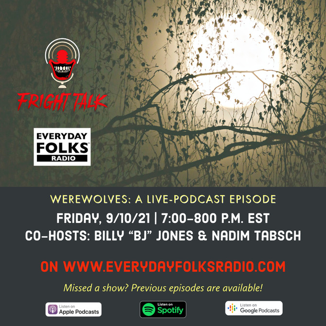 Fright Talk: Werewolves