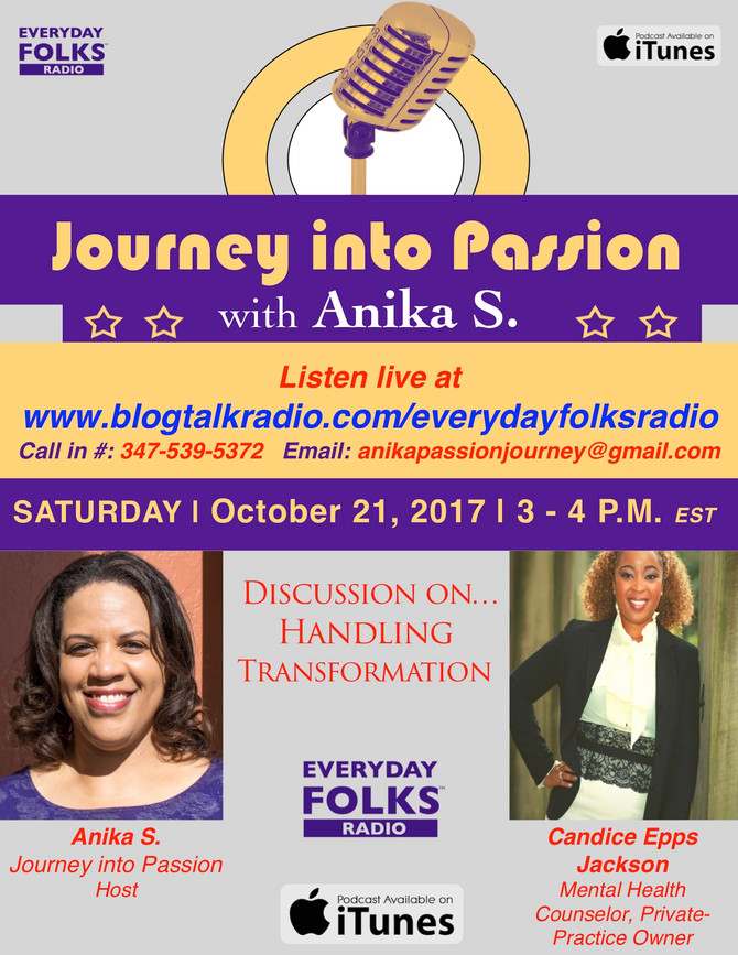 Journey into Passion: A Conversation with Candice Epps Jackson