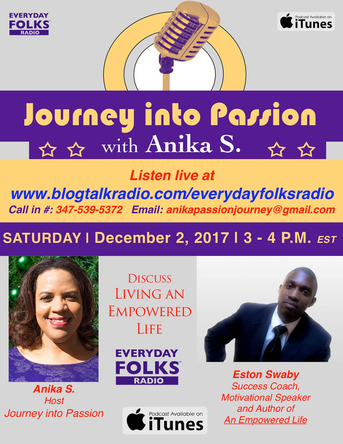 Journey into Passion: A Conversation with Eston Swaby