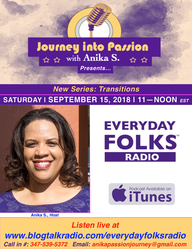 Journey into Passion with Anika S!