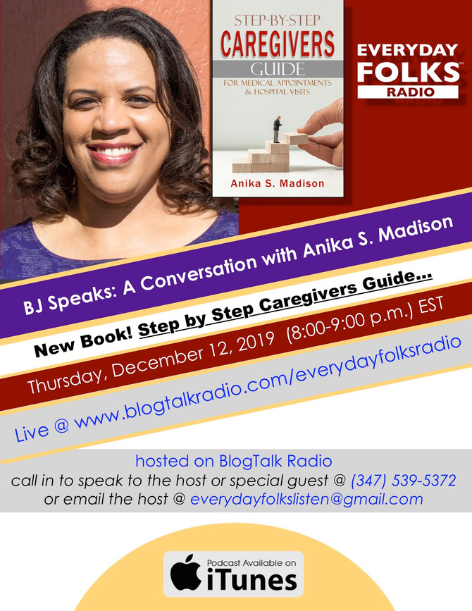 BJ Speaks: A Conversation with Author Anika S. Madison