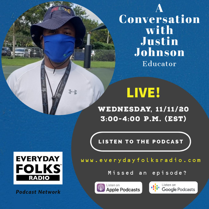 BJ Speaks: A Conversation with Justin M. Johnson