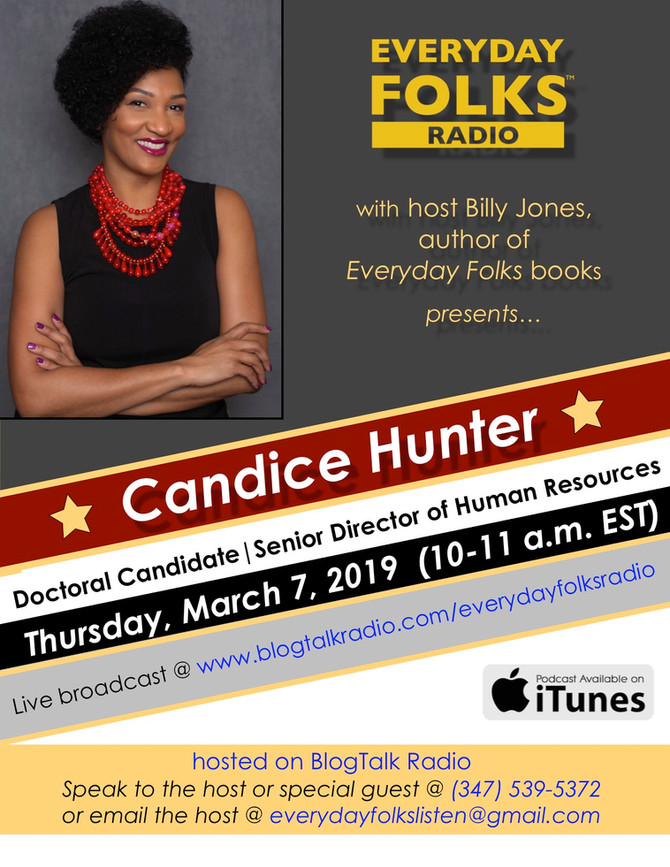 BJ Speaks: A Conversation with Candice Hunter