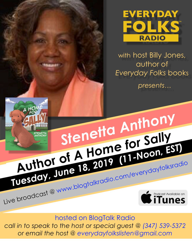 BJ Speaks: An Interview with Author Stenetta Anthony