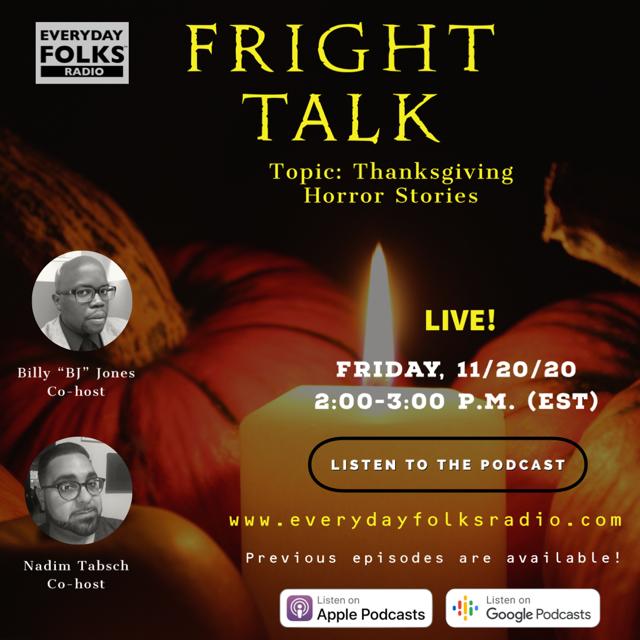 Fright Talk: Thanksgiving Horror Stories