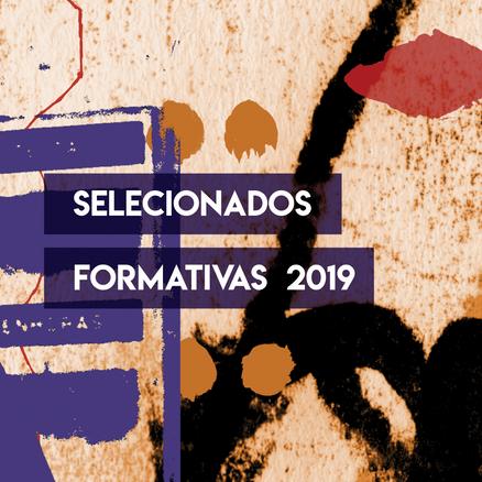 Selecionados Residências & Workshop 2019