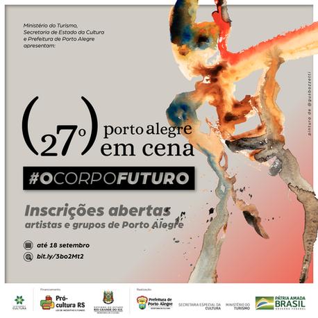 Inscrições abertas para artistas e grupos de Porto Alegre