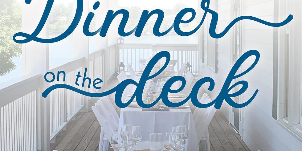 Dinner on the Deck