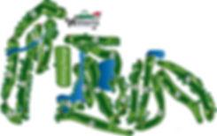 Lake Wissota Golf Map