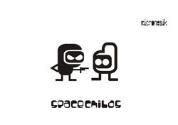Diseño de tipografía y personajes p: