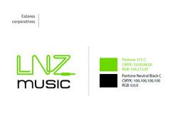 Logo y paleta corporativa para DJ