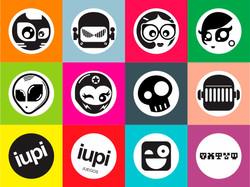 """Round Stickers p """"Juegos iupi"""" (1)"""