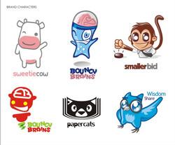 Diseño de Mascotas institucionales