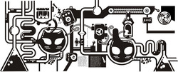 ilustraciones - laptop cover (2)
