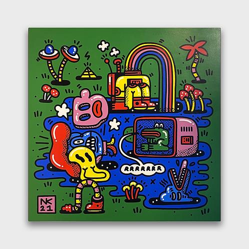 Neil Keating - Cosmic Realms - Green