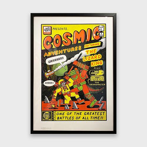 Neil Keating - Cosmic Adventures Print - Unframed