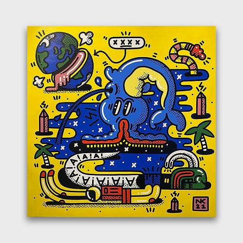 Neil Keating - Cosmic Realms - Yellow
