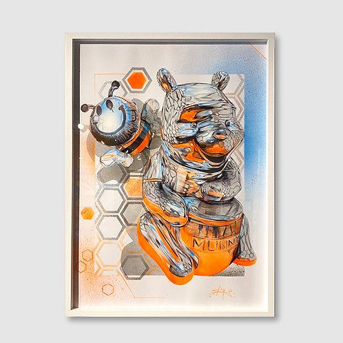 Fanakapan - Chrome Winnie - Framed