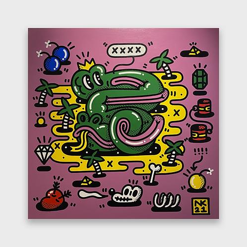 Neil Keating - Cosmic Realms - Pink