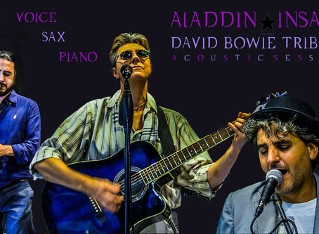 Aladdin Insane David Bowie Tribute Storytelling Acoustic Session