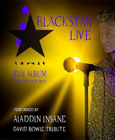 Blackstar Full Album Aladdin Insane David Bowie Tribute