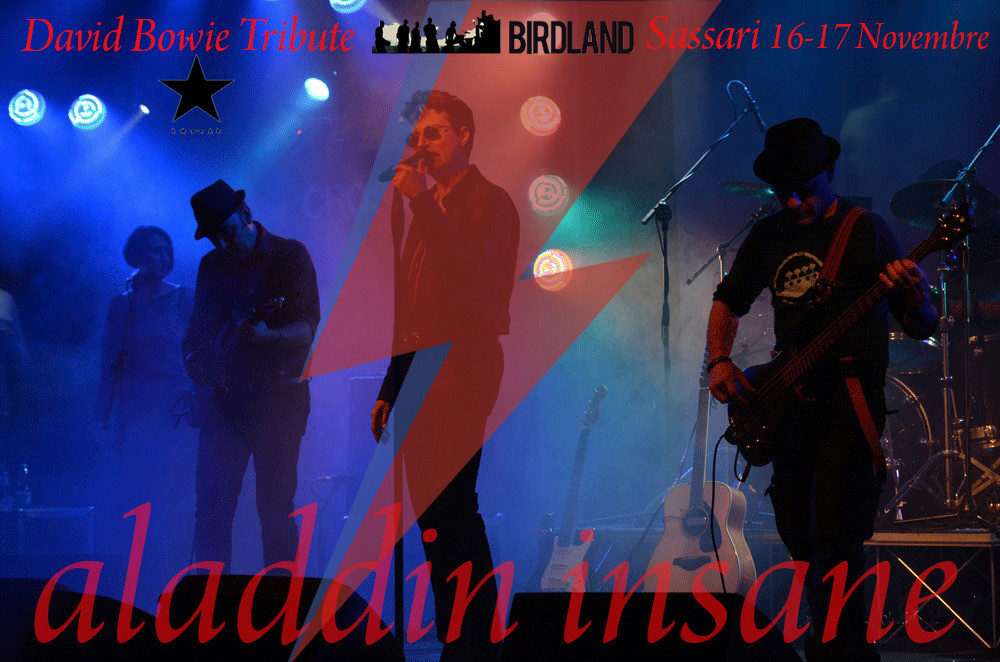 Aladdin Insane David Bowie Tribute | Aladdin Insane at Birdland SS