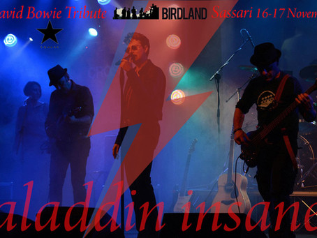Aladdin Insane Sardinia short tour