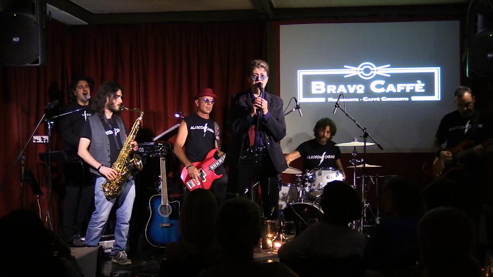 Aladdin Insane David Bowie Tribute | Aladdin Insane Live at Bravo Caffè |